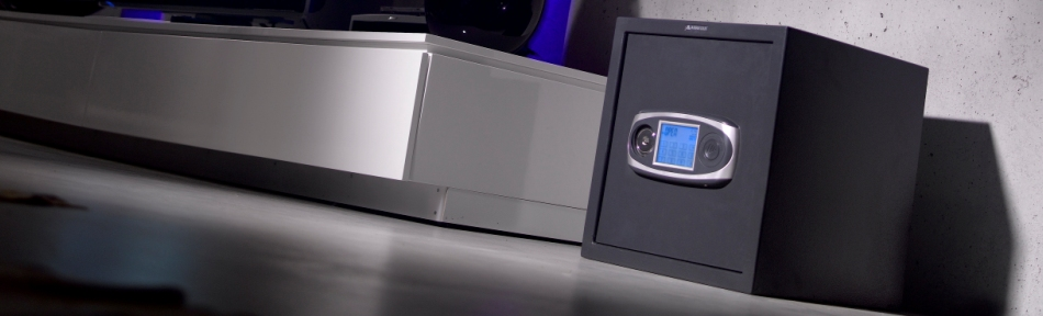 Caja fuerte Arregui de superficie electronica - Codigo - Pantalla tactil