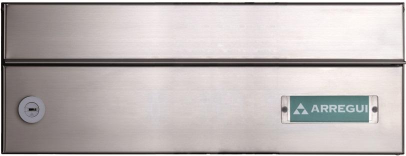 Sagastume Buzones - INFINITY H-2100 (Disponible en 4 acabados) - Distribuidores nacionales de buzones, tablones de anuncios, cestas de publicidad, señalizaciones, papeleras,... dirigido a comunidades de propietarios y administradores de fincas.