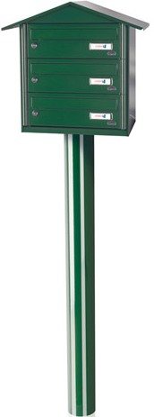 Sagastume Buzones - BCP (3 BUZONES) - Distribuidores nacionales de buzones, tablones de anuncios, cestas de publicidad, señalizaciones, papeleras,... dirigido a comunidades de propietarios y administradores de fincas.