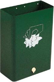Sagastume Buzones - PAPELERA SERIE GARAJE (Disponible en 3 acabados) - Distribuidores nacionales de buzones, tablones de anuncios, cestas de publicidad, señalizaciones, papeleras,... dirigido a comunidades de propietarios y administradores de fincas.