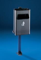Sagastume Buzones - PAPELERA MODELO AL-72700 (Disponible en múltiples acabados) - Distribuidores nacionales de buzones, tablones de anuncios, cestas de publicidad, señalizaciones, papeleras,... dirigido a comunidades de propietarios y administradores de fincas.