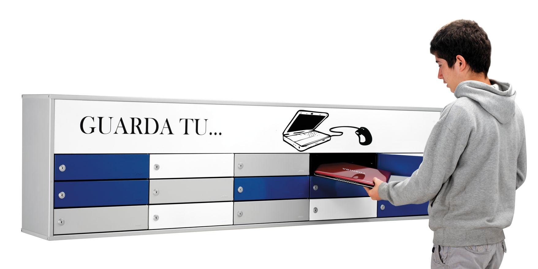 Sagastume Buzones - Buzón Guarda - Portátiles - Distribuidores nacionales de buzones, tablones de anuncios, cestas de publicidad, señalizaciones, papeleras,... dirigido a comunidades de propietarios y administradores de fincas.