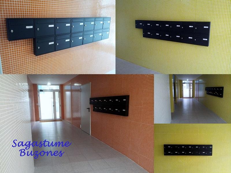 Sagastume Buzones - Buzón Paisaje - 03820 Negro - Distribuidores nacionales de buzones, tablones de anuncios, cestas de publicidad, señalizaciones, papeleras,... dirigido a comunidades de propietarios y administradores de fincas.